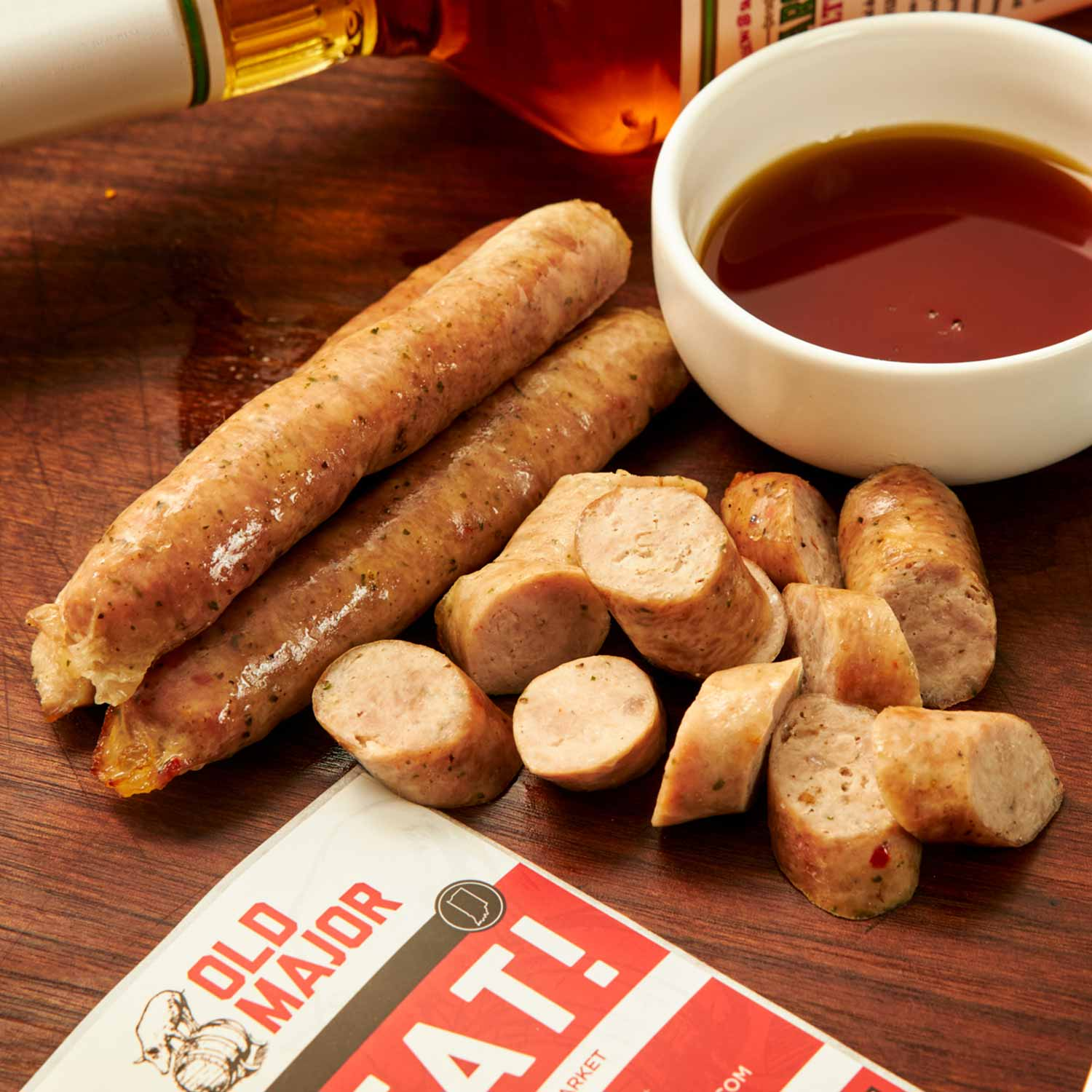 Sausage, Maple Bourbon Breakfast Links
