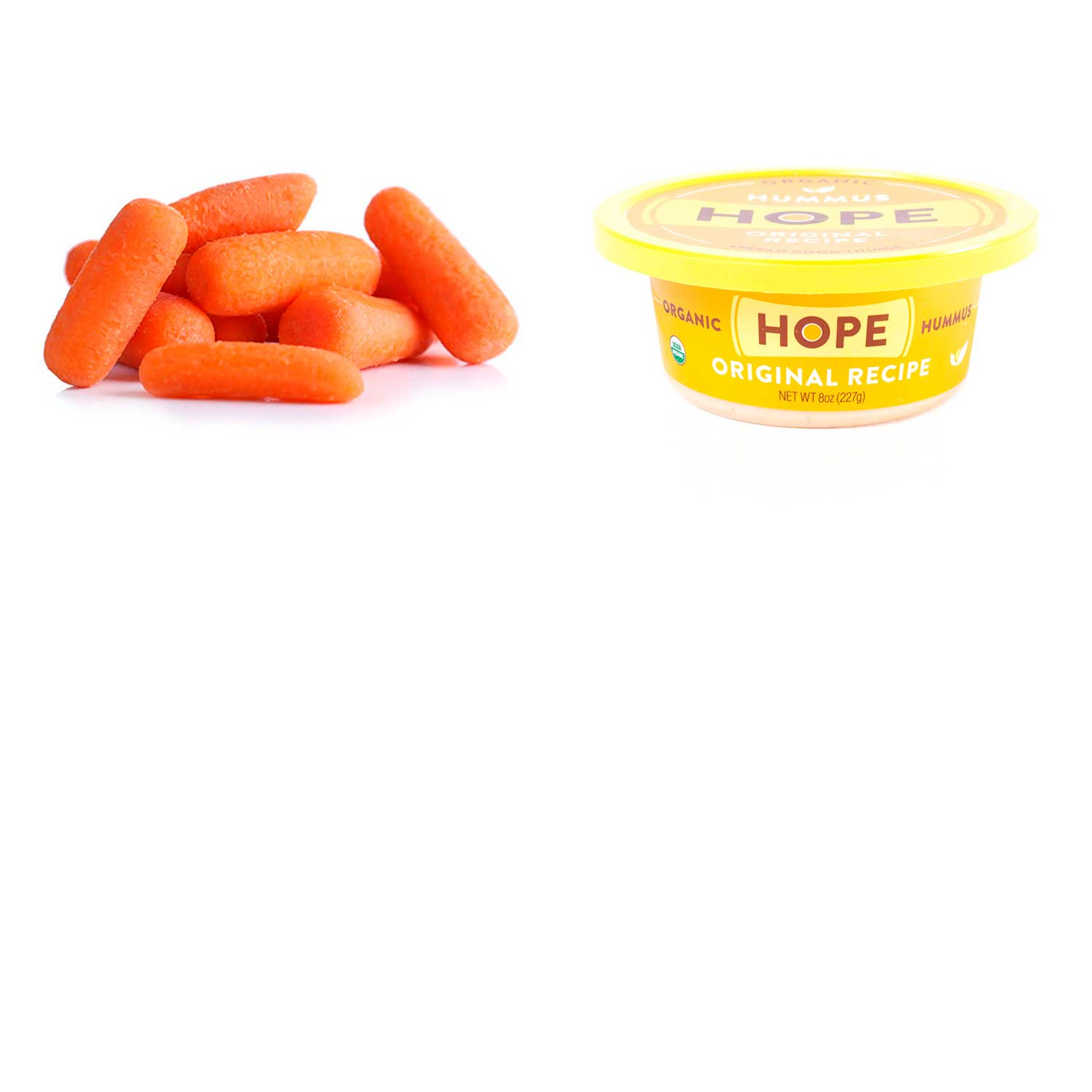 Baby Carrots and Hope Hummus (bundle)