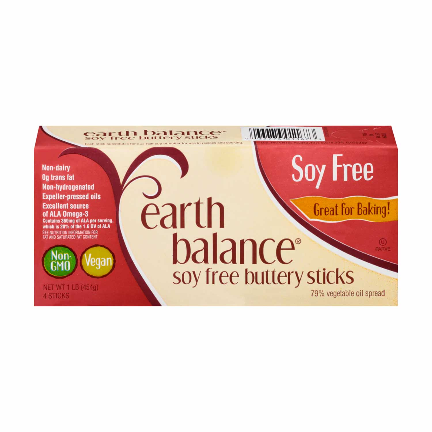 Buttery Sticks, Soy Free