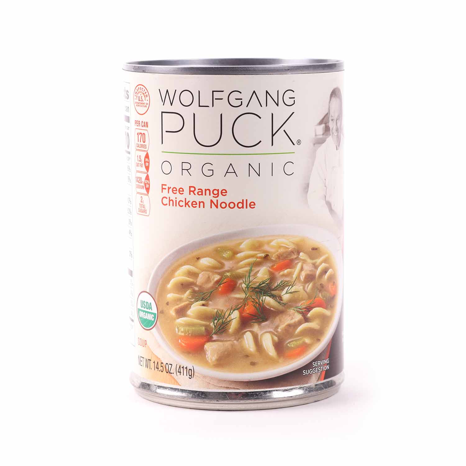 Free Range Chicken Noodle Soup-Organic