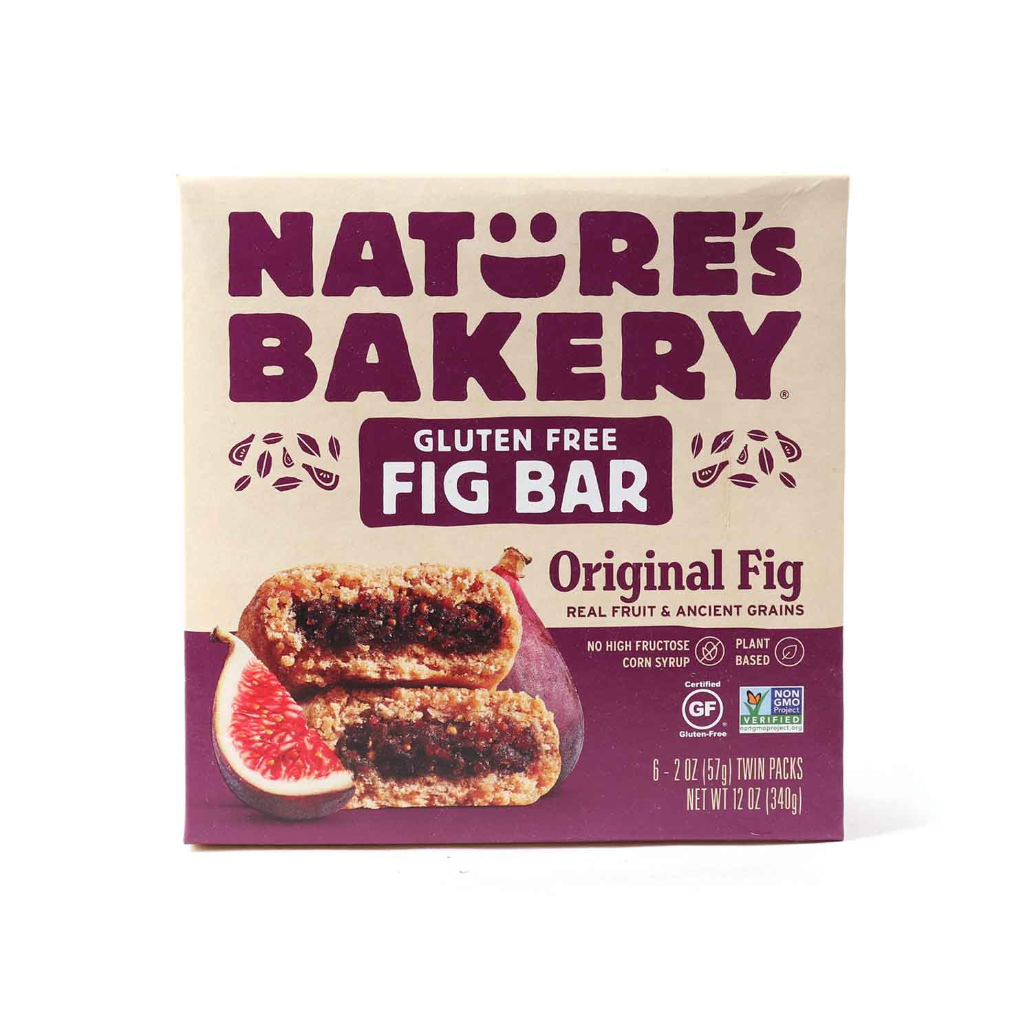 Fig Bar, Gluten Free Original-6 pk