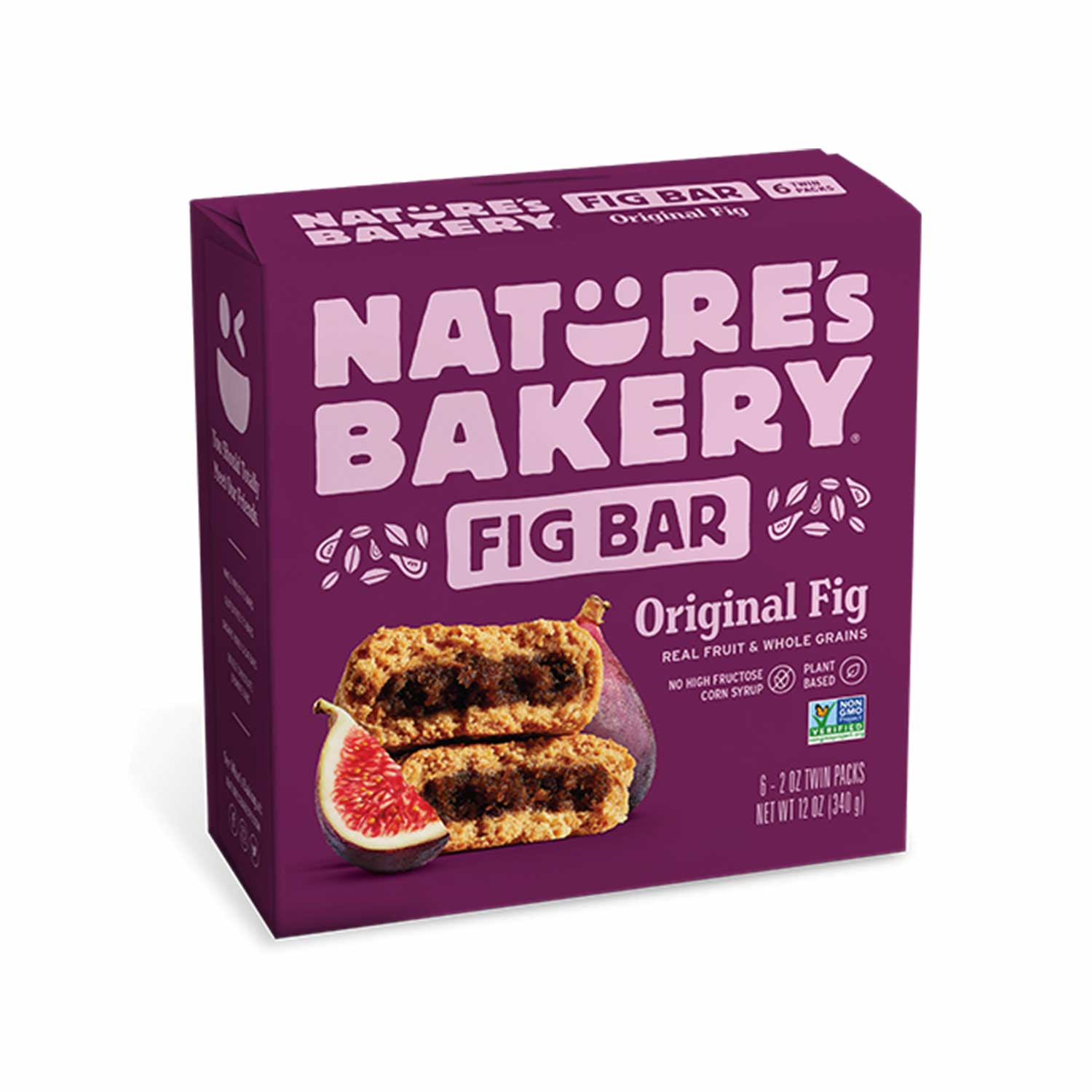 Fig Bar, Whole Wheat Original - Case