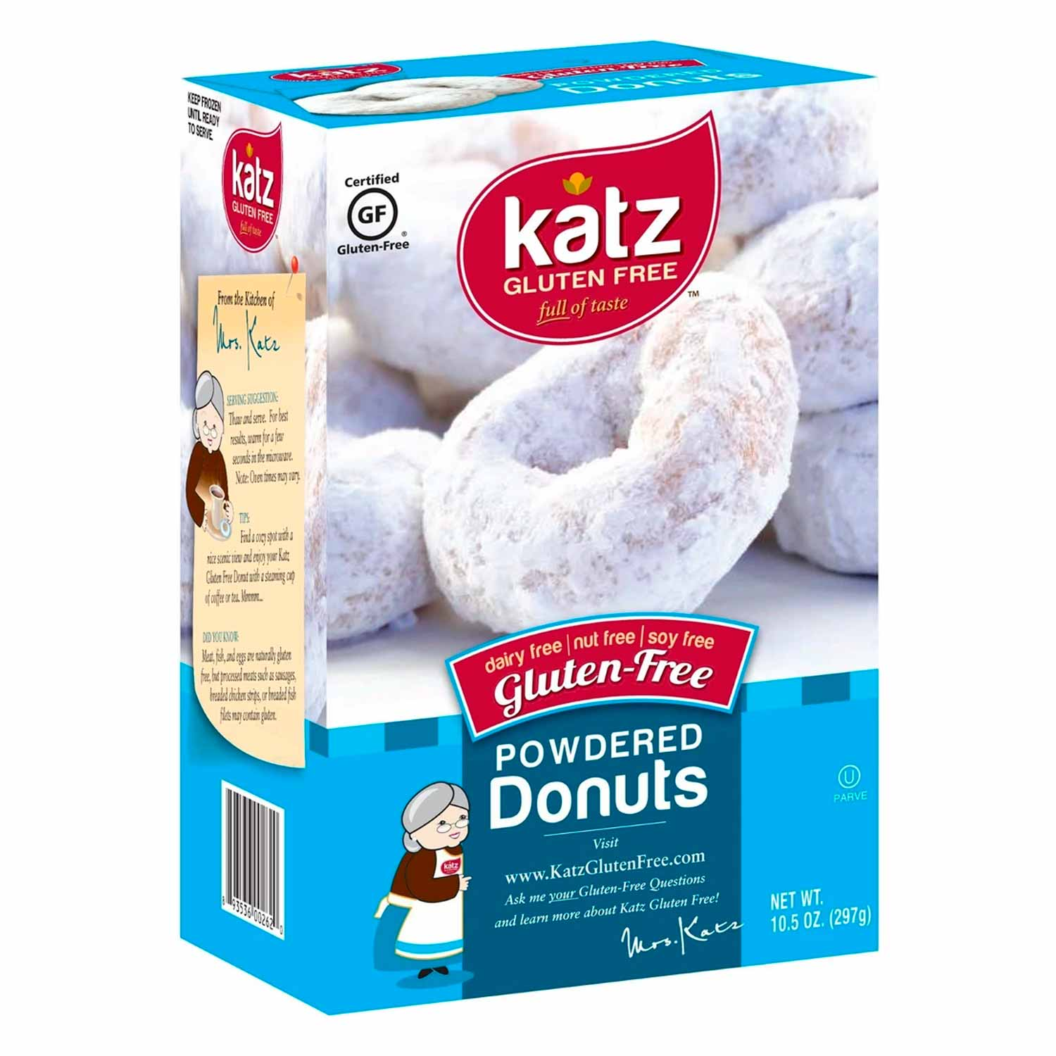 Donuts, Powdered-Gluten Free