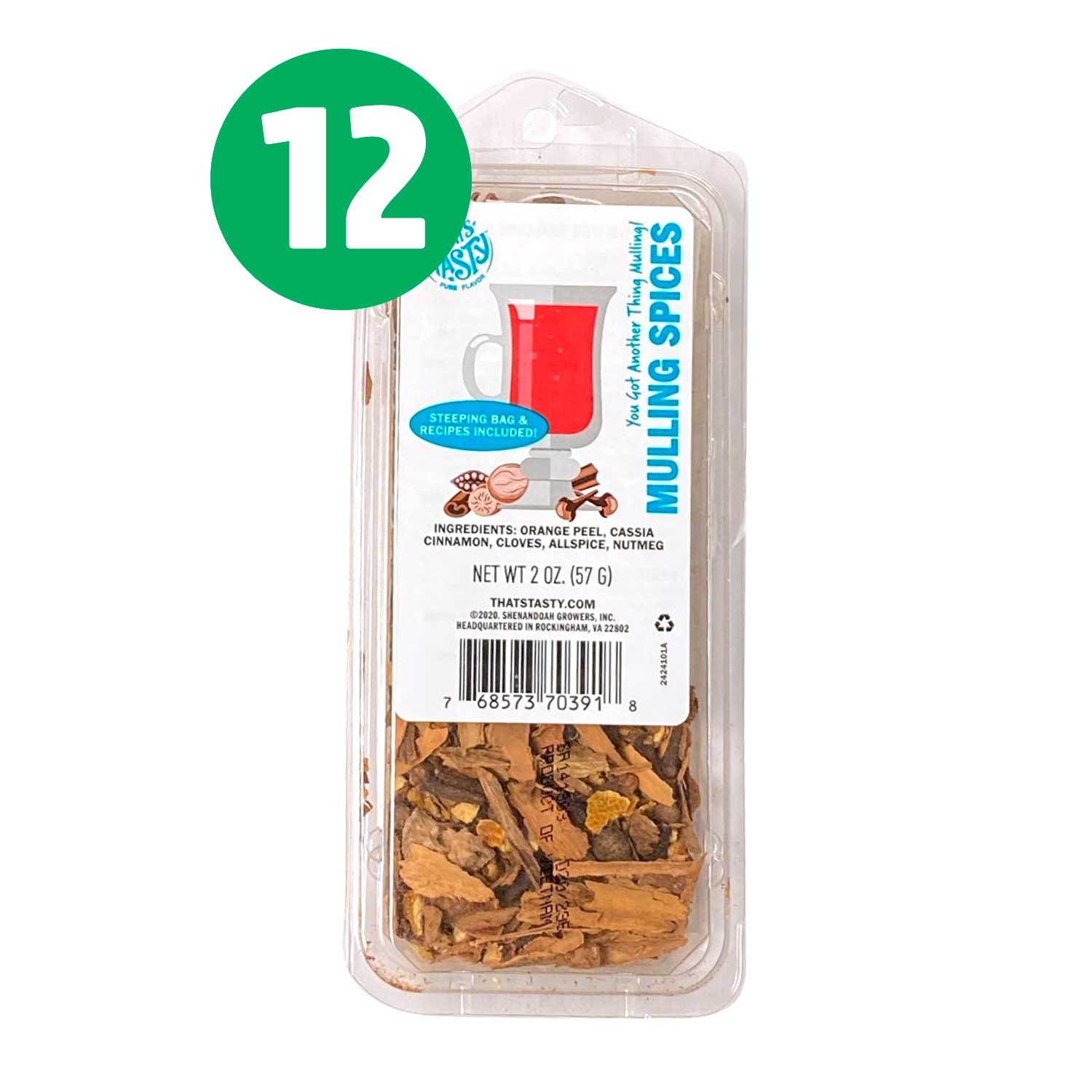 Spices, Mulling Spices - CASE of 12