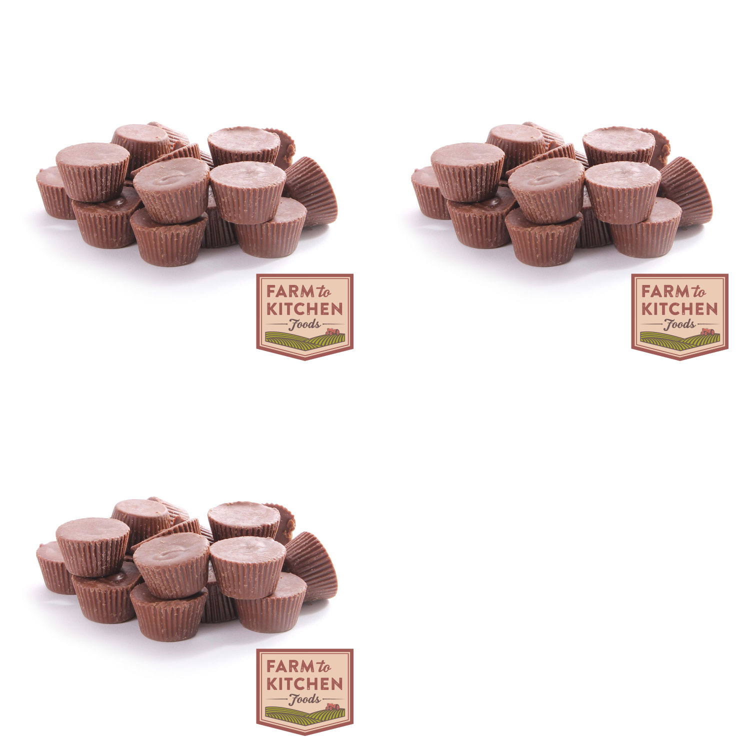 Farm to Kitchen Foods Milk Chocolate Peanut Butter Cups - Buy 2 Get 1 Free