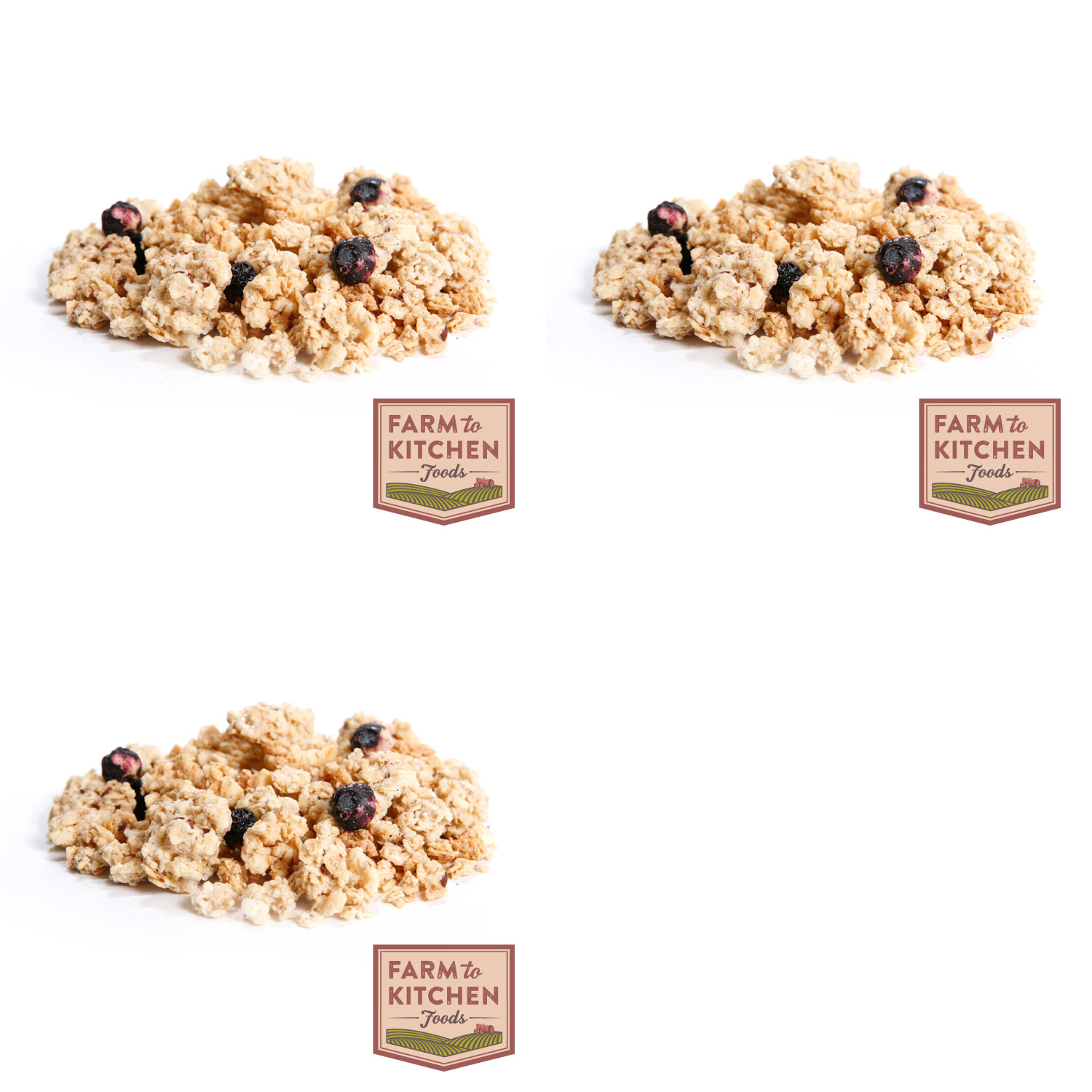 Farm to Kitchen Foods Blueberry Flax Granola - Buy 2 Get 1 Free