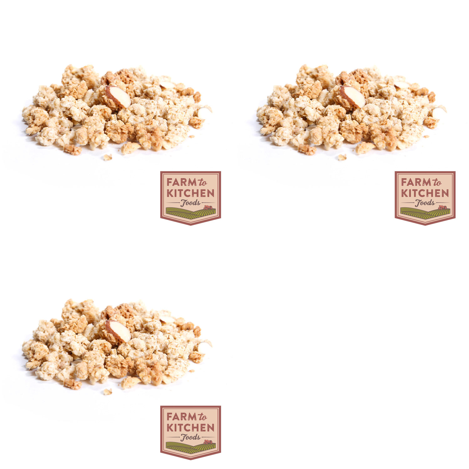Farm to Kitchen Foods French Vanilla Almond Granola - Buy 2 Get 1 Free
