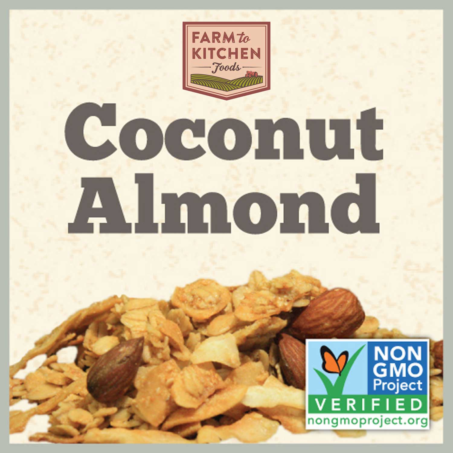 Granola, Coconut Almond