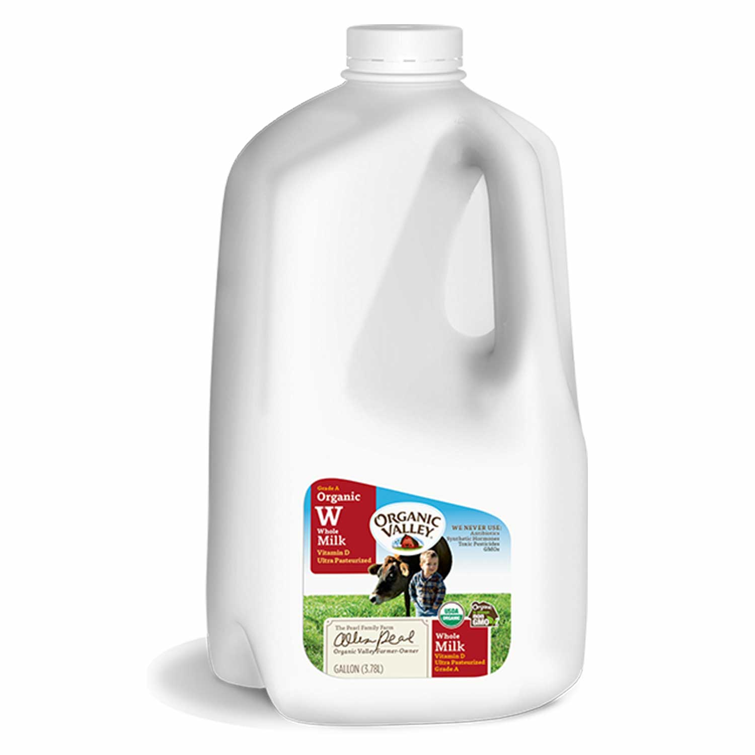 Milk, Whole - GALLON-Organic