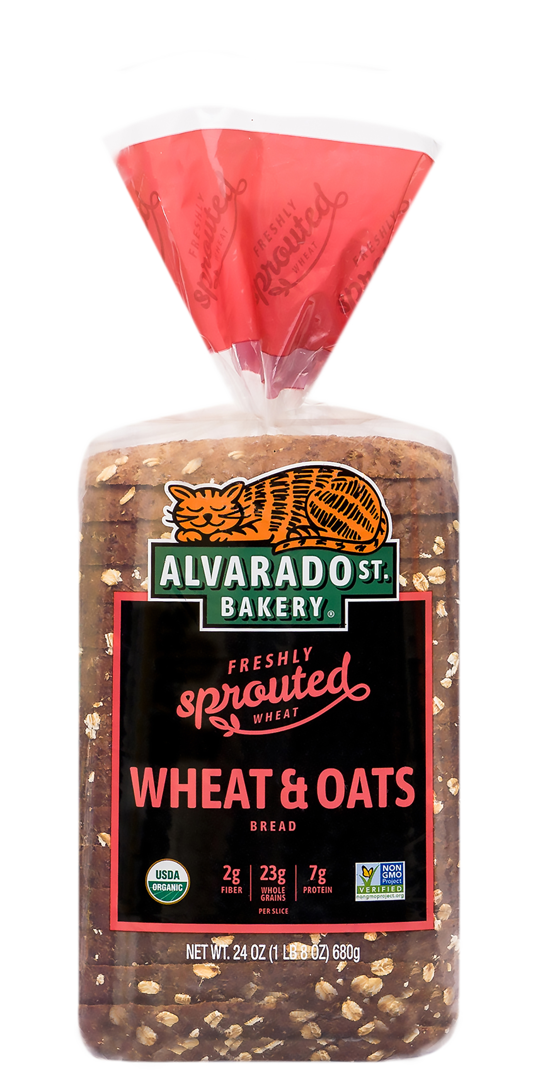 Bread, Sprouted Wheat & Oats-Organic