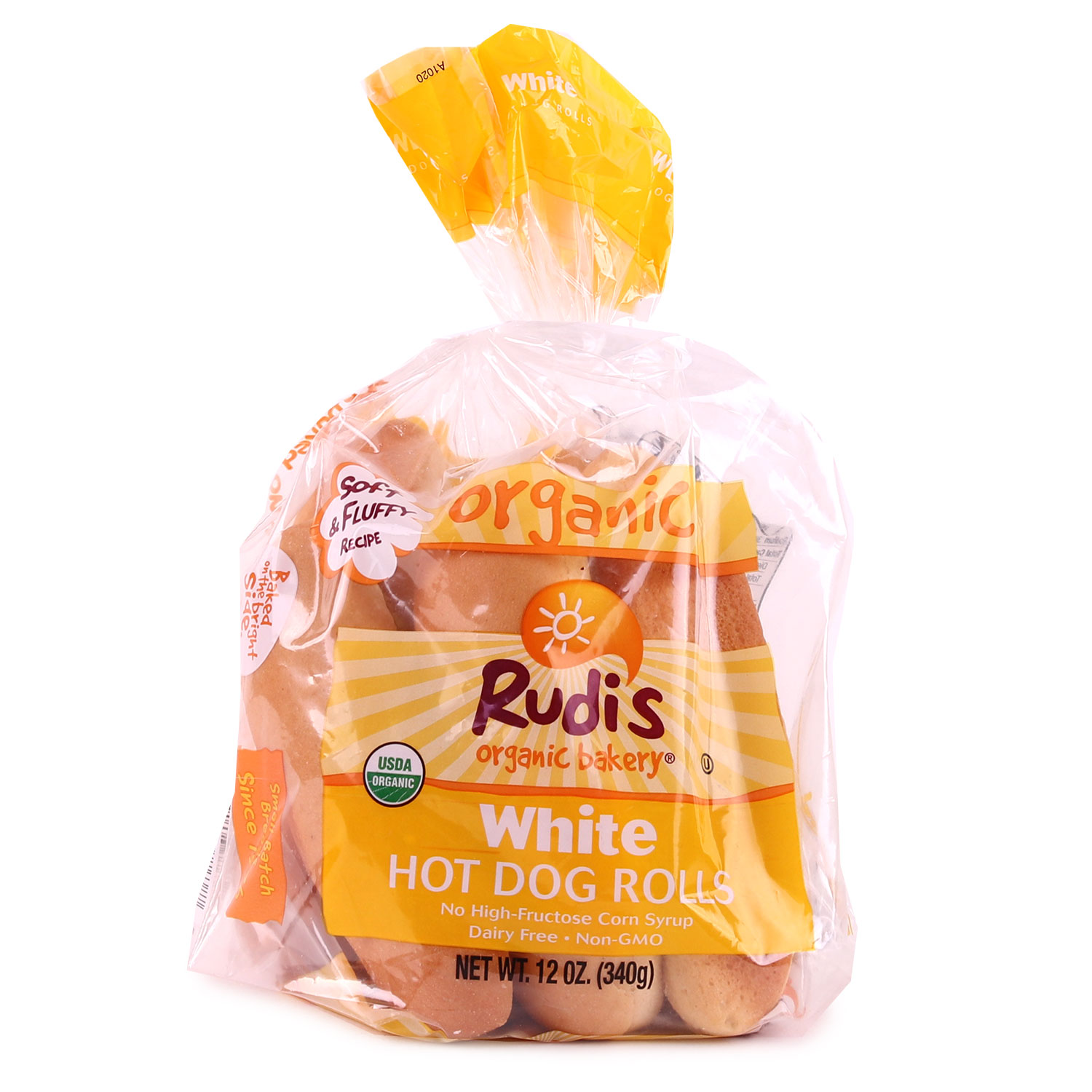 Buns, White Hot Dog-Organic