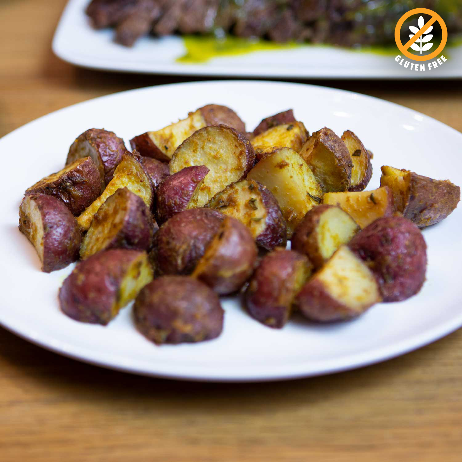 Dijon Rosemary Baby Red Potatoes