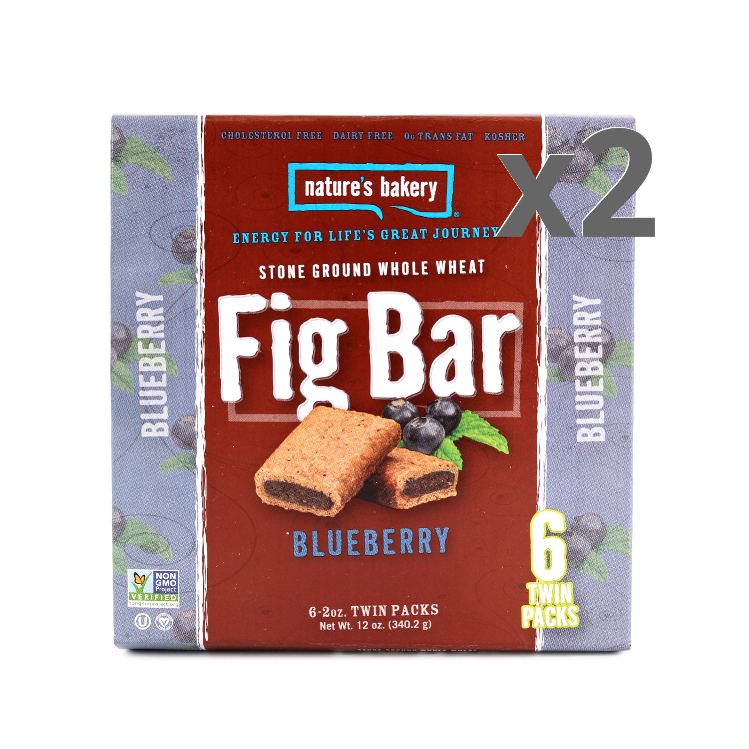 Nature's Bakery Blueberry Fig Bars 2-Pack