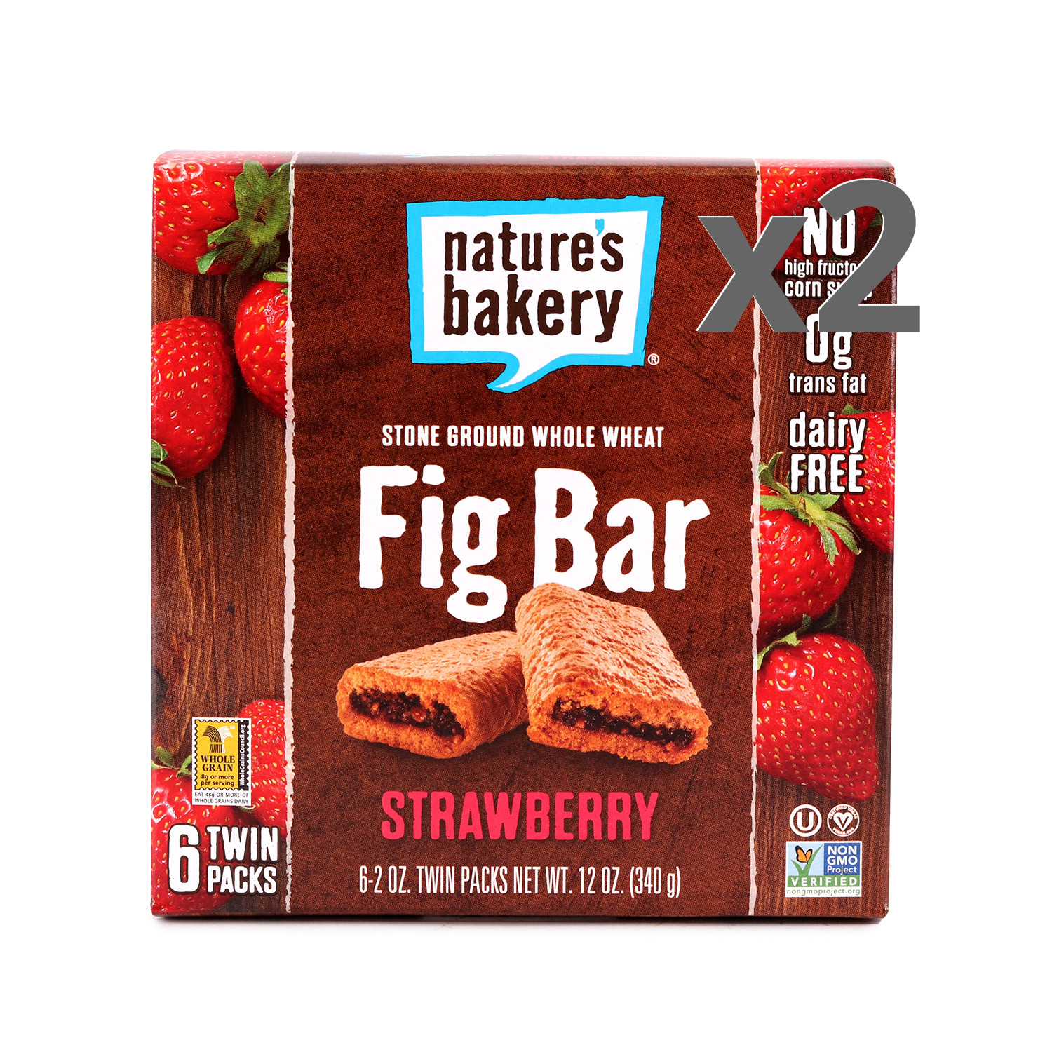 Nature's Bakery Strawberry Fig Bars 2-Pack