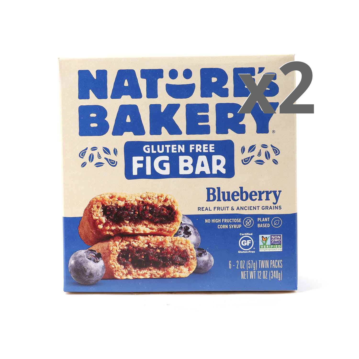 Nature's Bakery Gluten Free Blueberry 2-Pack