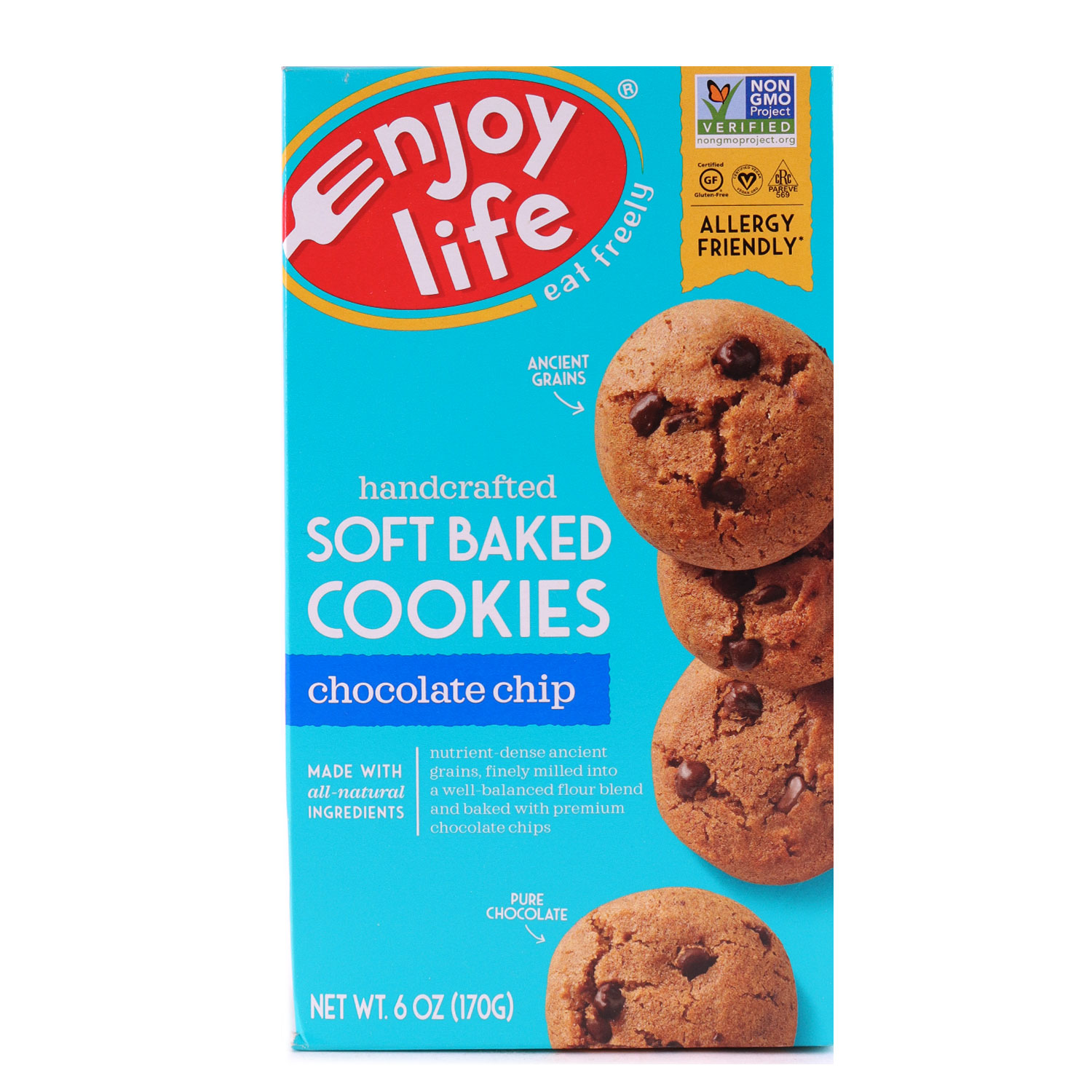 Soft Baked Cookies, Chocolate Chip-Gluten Free