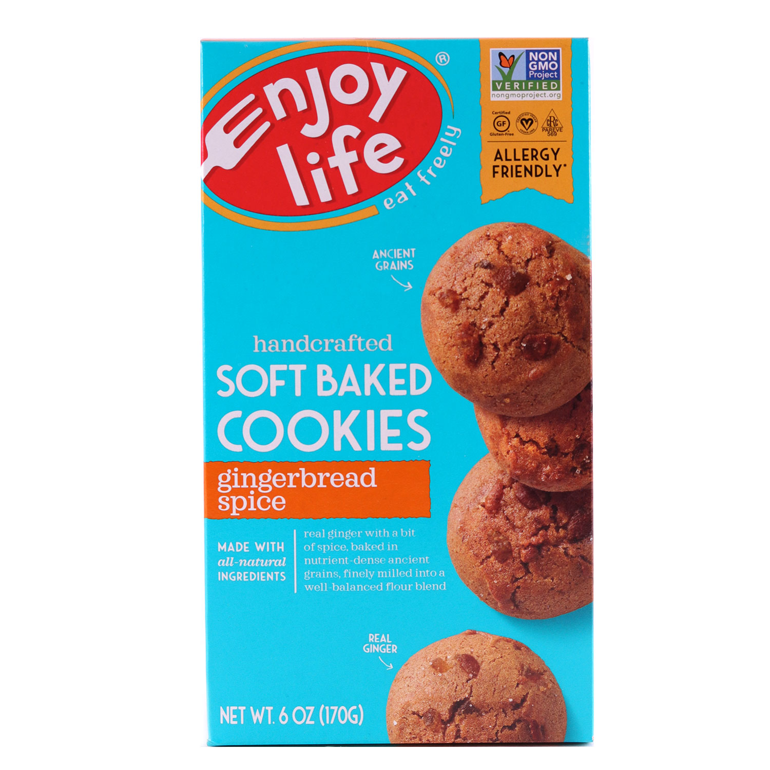 Soft Baked Cookies, Gingerbread Spice-Gluten Free