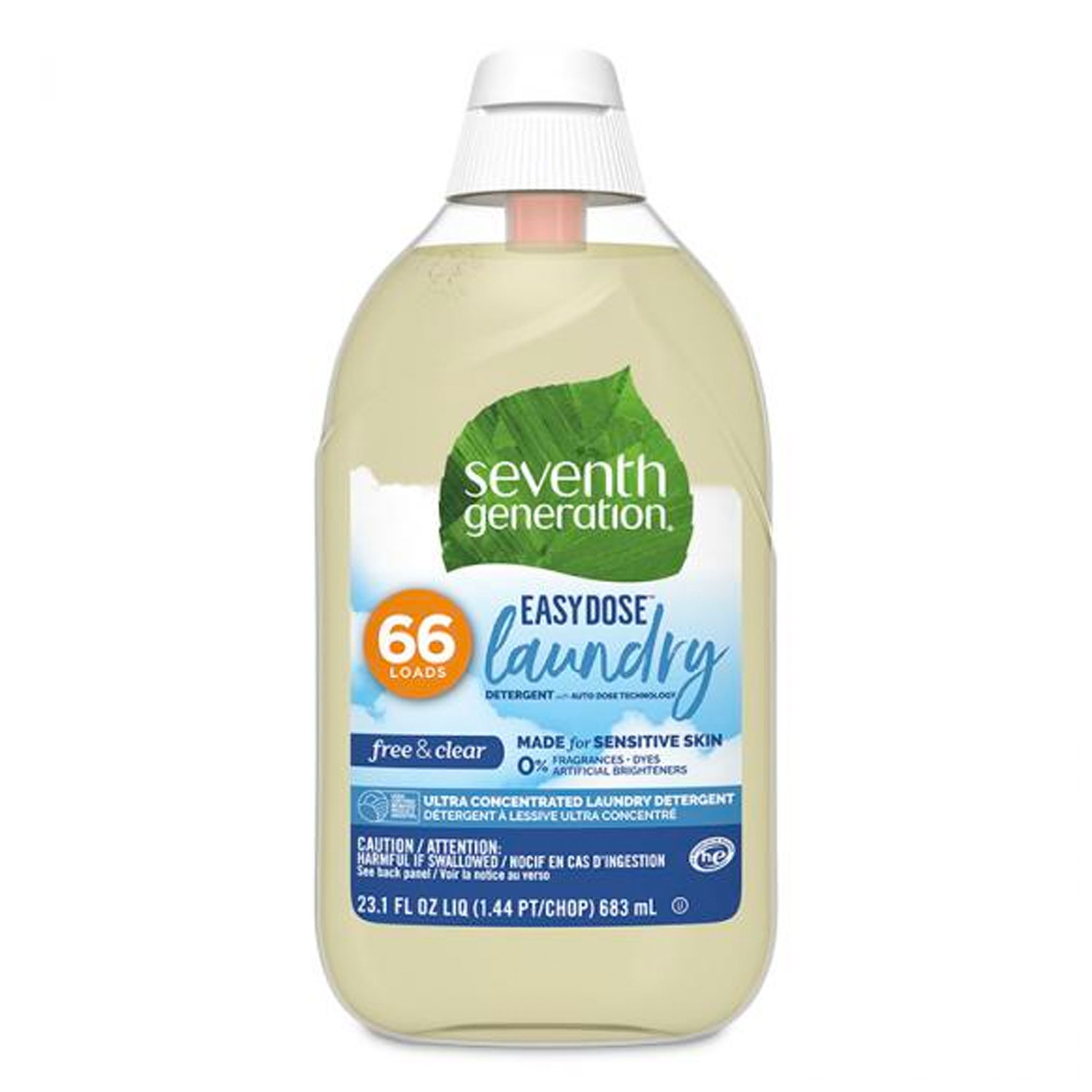 Laundry Detergent, Easy Dose Ultra Concentrated - Free & Clear