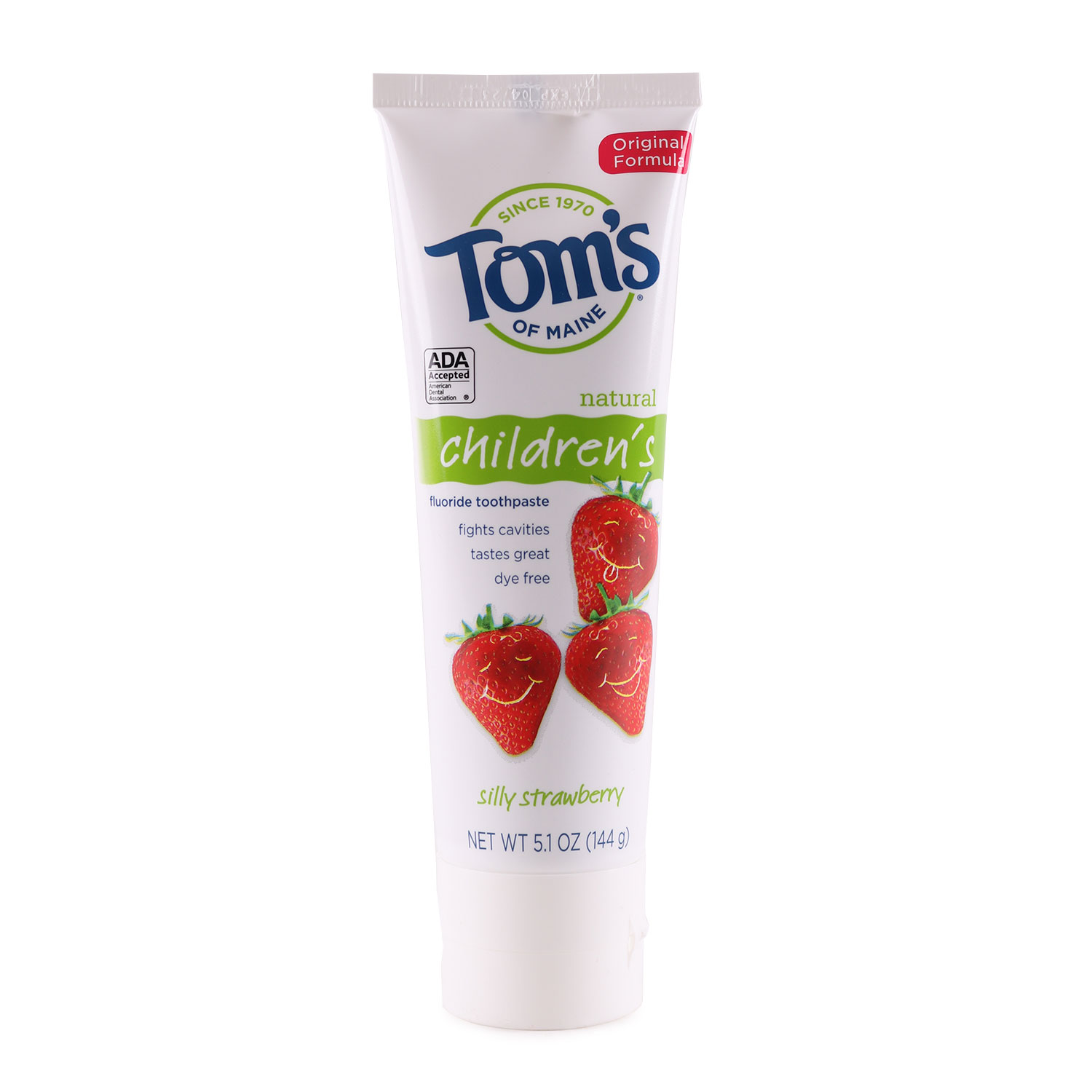 Tooth Paste, with Flouride - Children's - Silly Strawberry