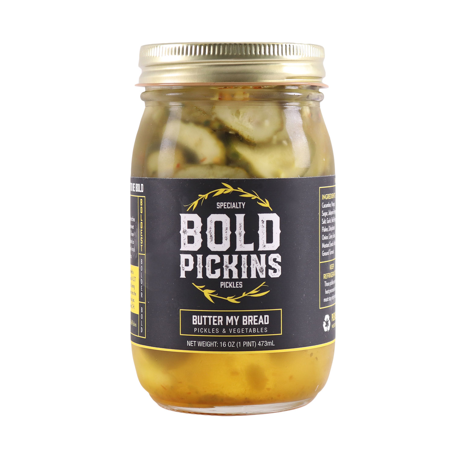 Pickles, Butter My Bread