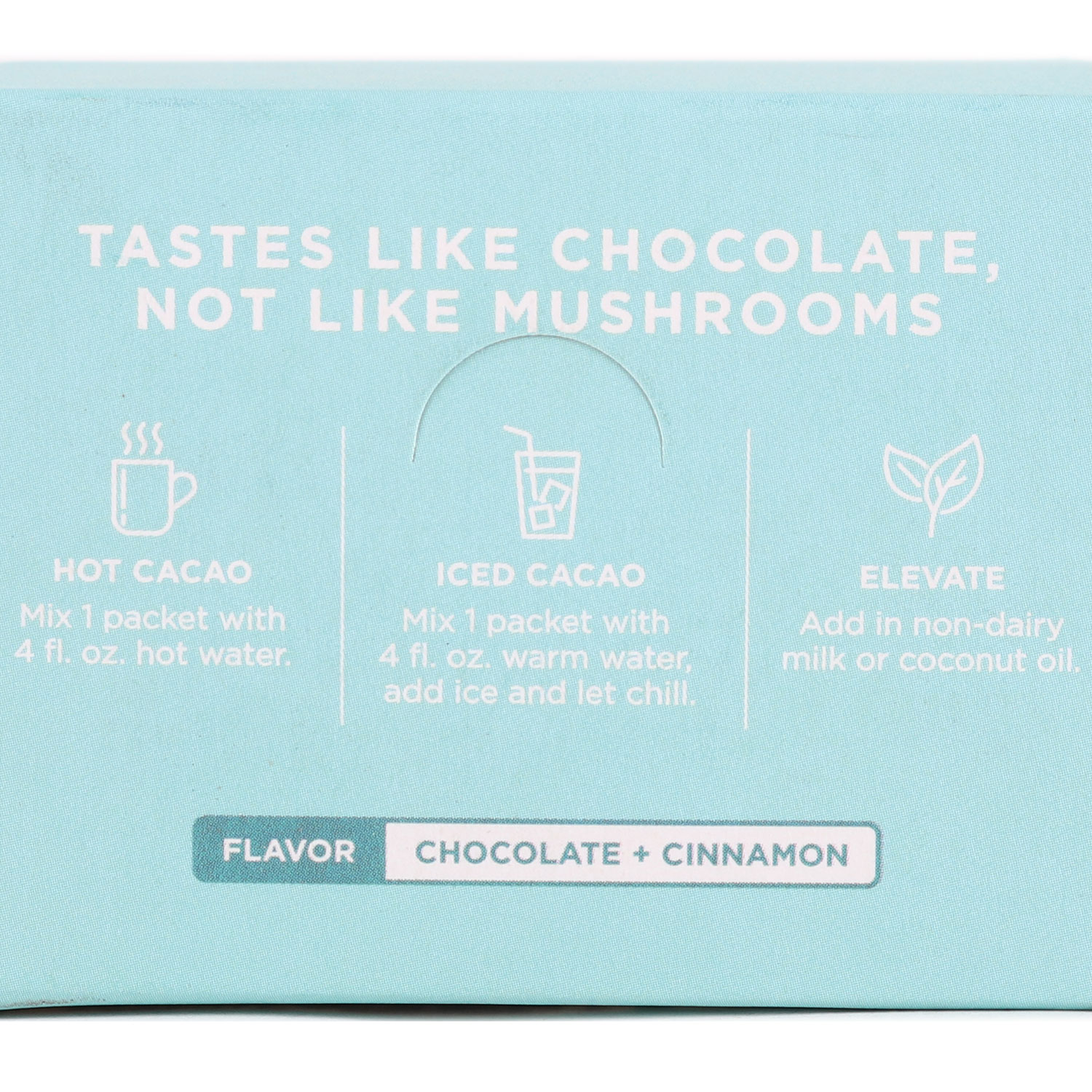 Mushroom Hot Cacao Mix, Chill Out Vibes - Reishi-Organic